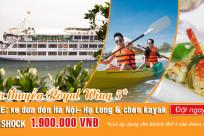 Chỉ với 1.900.000 vnđ trải nghiệm du thuyền Royal Wings 5* đẳng cấp