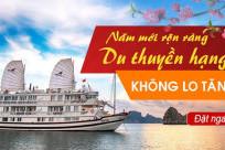 Năm mới rộn ràng, du thuyền hạng sang - KHÔNG LO TĂNG GIÁ