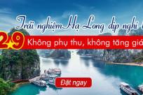 Trải nghiệm du thuyền Hạ Long 2/9: Không phụ thu, không tăng giá