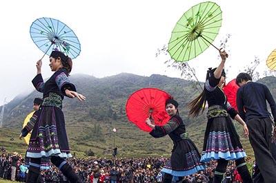 Khám phá nét đẹp độc đáo của Chợ tình Khâu Vai, Hà Giang