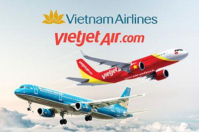 Cập nhật tình hình thay đổi giá vé và thuế phí từ Vietnam Airlines và Vietjet Air ngày 01/04/2018