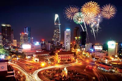 Top 5 địa điểm người dân Hồ Chí Minh nên đi vào dịp Tết dương lịch