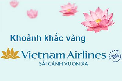 Vietnam Airlines triển khai chương trình Khoảnh khắc vàng tung giá rẻ bất ngờ