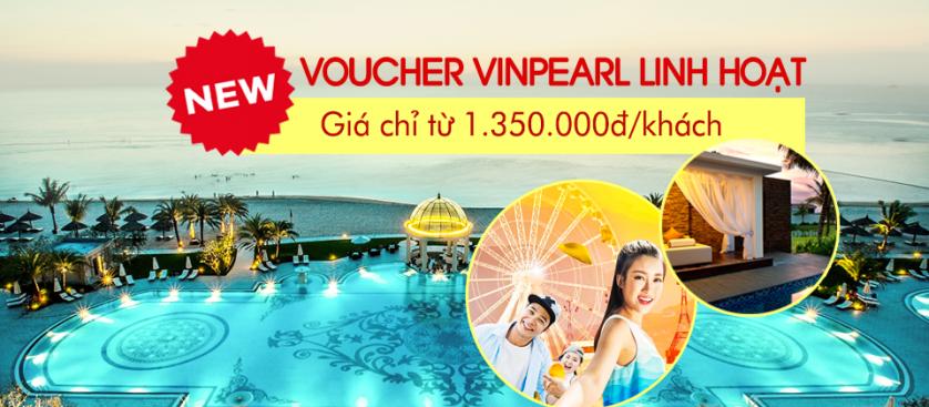 HOT! Voucher Vinpearl linh hoạt 2018 chỉ từ 1.350.000đ/khách