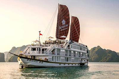Du thuyền Heritage Line Jasmine Cruise  trên vịnh Hạ Long | 2 ngày 1 đêm