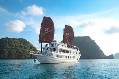 Du thuyền V'Spirit trên vịnh Hạ Long | 2 ngày 1 đêm