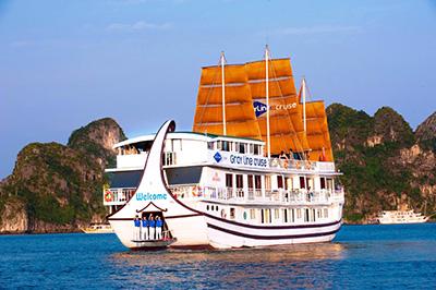 Du thuyền Gray Line trên vịnh Hạ Long | 2 ngày 1 đêm