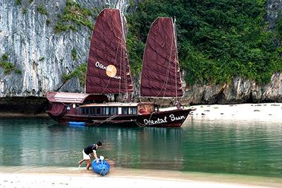 Du thuyền Oriental Sun Cát Bà | 2 ngày 1 đêm