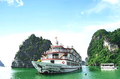 Du thuyền Hương Hải Sealife trên vịnh Hạ Long | 2 ngày 1 đêm