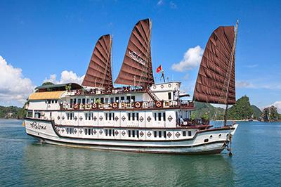 Du thuyền Paloma trên vịnh Hạ Long | 2 ngày 1 đêm