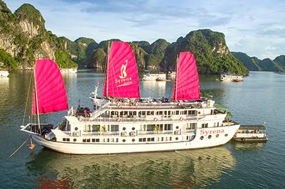 Du thuyền Syrena trên vịnh Hạ Long | 2 ngày 1 đêm