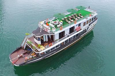 Du thuyền White Dolphin trên vịnh Hạ Long | 2 ngày 1 đêm