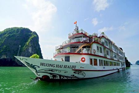 Du thuyền Hương Hải Sealife