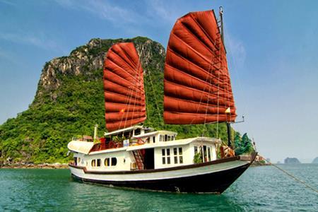 Du thuyền Quatre Saisons Cát Bà