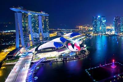 Khám phá những sắc màu của Singapore về đêm