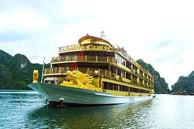 Khám phá du thuyền 5* Golden Cruise lớn nhất Vịnh Hạ Long