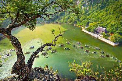 Ghé thăm danh thắng Tam Cốc - Bích Động, Ninh Bình