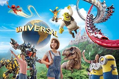 Vòng quanh Universal Studio Singapore với những trải nghiệm tuyệt vời