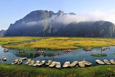 Vẻ đẹp hoang sơ của khu bảo tồn thiên nhiên ngập nước Vân Long