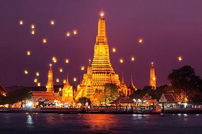 Top 5 ngôi chùa đẹp nhất Thái Lan nhất định nên ghé thăm
