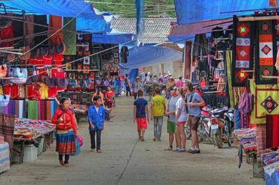 Chợ Phiên Bắc Hà - Phiên chợ độc đáo của người dân vùng caoTây Bắc