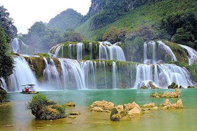 Du lịch Thác Bản Giốc Cao Bằng - Chốn bồng lai tiên cảnh giữa núi rừng biên cương