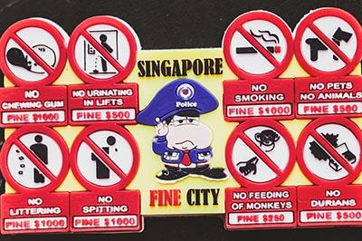 Những điều cấm kỵ không phải ai cũng biết khi đặt chân đến Singapore