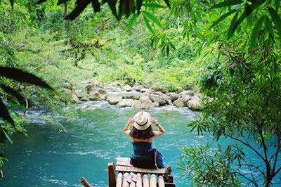 Khu du lịch sinh thái Suối nước Moọc đẹp tựa tiên cảnh ở Quảng Bình