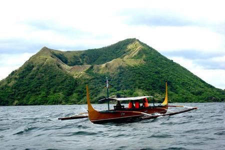 Núi lửa Taal ở Tagaytay