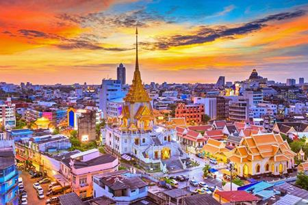 Chùa Phật Vàng Bangkok
