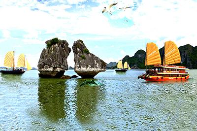 Tour du lịch Hà Nội - Hạ Long - Cát Bà - Đảo Tuần Châu 5 ngày 4 đêm